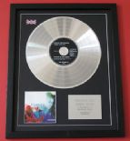 ALANIS MORISSETTE - Jagged Little Pill CD / LP PLATINUM PRESENTATION DISC